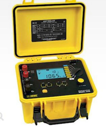 AEMC 6240 10-Amp Micro-Ohmmeter, 1μ<omega> to 400<omega>