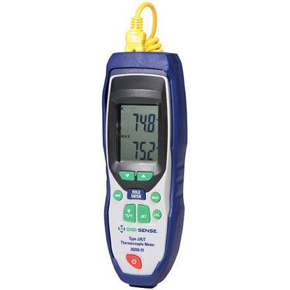 Digi-Sense Thermocouple Thermometer, Type J/K/T, NIST Traceable Calibration