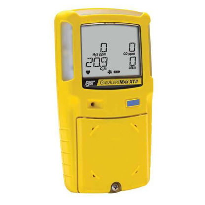 BW Technologies GasAlertMax XT II Four Gas Detector, O2/CO/H2S/LEL