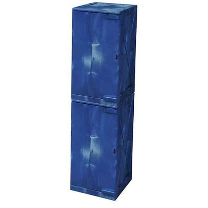 CABINET SAFETY PE 24 GAL BLUE