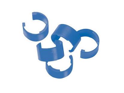 COLOR CLIPS, BAG OF 10 (BLUE)