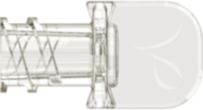 Neuraxial Female Cap fits Neuraxial Male Connector Clear Acrylic