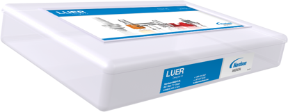 Male and female luers luer plugs couplers tees elbows as well as blood pressure cuff and monitor fittings. Luer tapers are made to ISO standards.