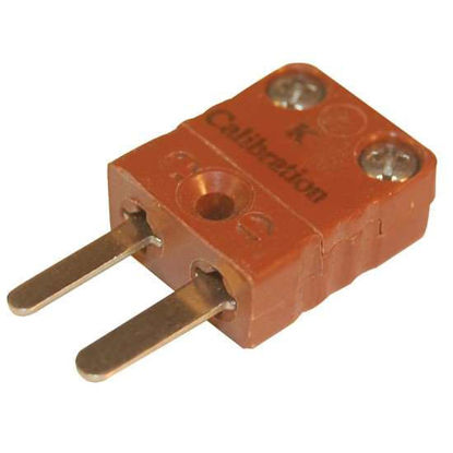 Digi-Sense Miniature Type-K Thermocouple Male Connector, 2 Pin