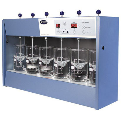 Stuart Flocculation Jar Tester, 6-place, 230 V