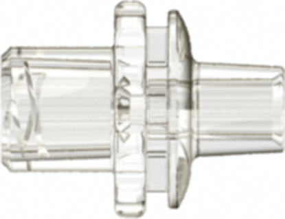 Enteral Female Connector with 10 FR Tubing Bond-in Pocket natural ABS