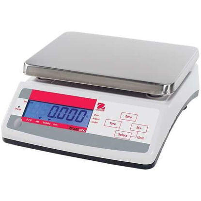 Ohaus V11P30T Valor 1000 Compact Industrial Scale, 30 kg X 5 g