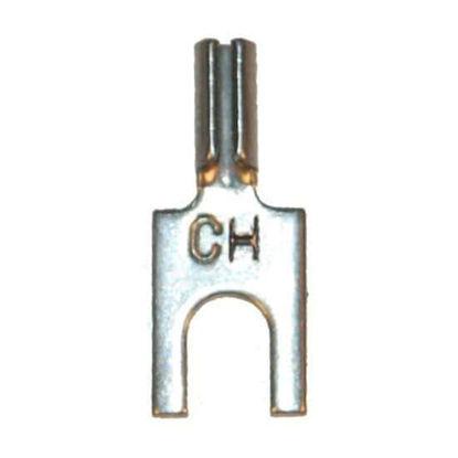 Digi-Sense Spade Lugs, Chromel, for Type K and E Thermocouples; 10/pk
