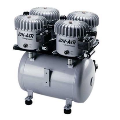 JUN-AIR Jun-Air Oil-Lubricated Piston Air Compressor, 7.06 cfm, 120 psi, 230V 50/60 Hz