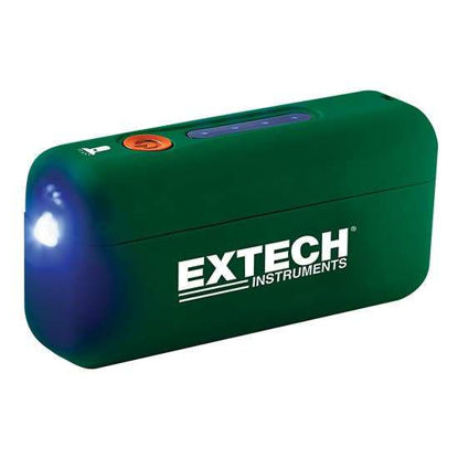 Extech PWR5 Portable Battery Power Bank with Flashlight