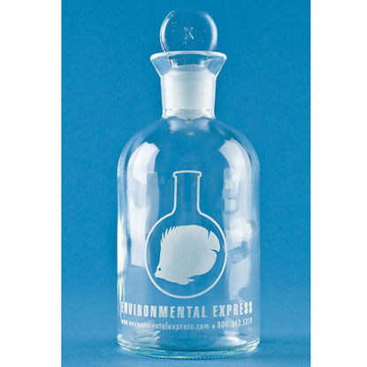 Environmental Express Glass Bottle w/ Stopper, 300 mL, 24/cs (package)