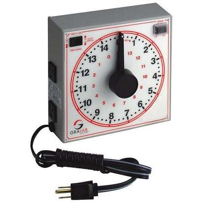 Dimco-Gray 173-250V Analog interval timer, 15 hours, 230 VAC