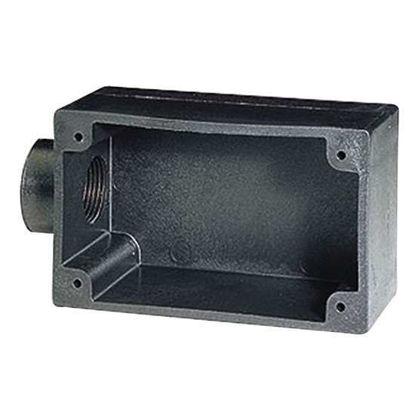 """Digi-Sense Temperature Outlet Box, Plastic, 4.5"""" x 2.5"""""""