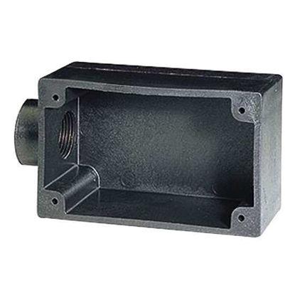 """Digi-Sense Temperature Outlet Box, Plastic, 4.5"""" x 4.5"""""""