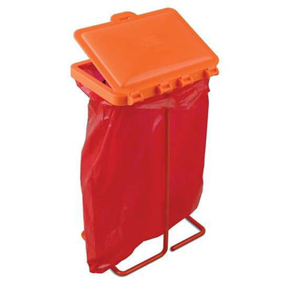 Bel-Art F13193-0500 Poxygrid Bench-Top Biohazard Bag Holder Kit