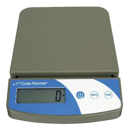 Cole-Parmer Symmetry Compact Portable Toploading Balance, 2000g x 0.1g, 220V
