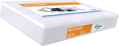 BioPharm Component Kit includes sanitary fittings clamps valves gaskets and an assortment of connectors.