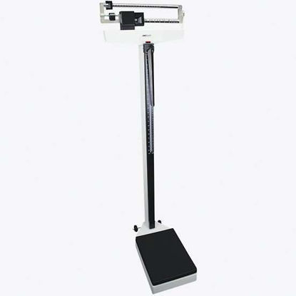 Adam Equipment MDW 200M  Mechanical Health Scale, 440 lb/200 kg x 0.2 lb/0.1 kg with Height Rod & Wheels