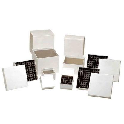 Argos Technologies Cardboard Freezer Box Dividers, for 196 PCR Tubes, 8 mm Openings; 12/Pk