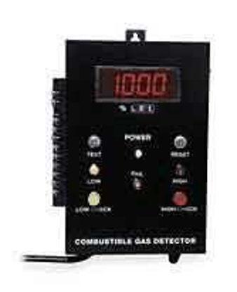 US Industrial 8100R/2ALD Gas Detector w/2-Stage Alarm, LEL; Wall-Mt/Remote Sensor