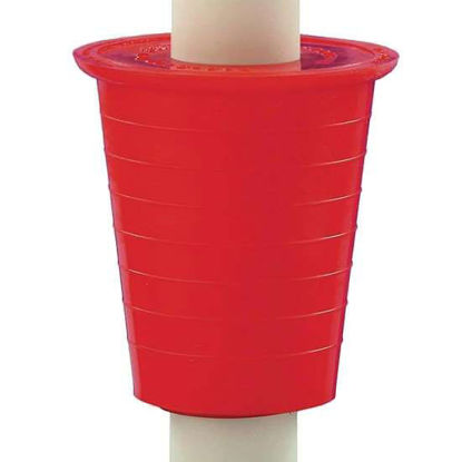 Burkle, Inc. 5600-3150 Bung Adapter for Drums and Barrels, PVC, 40 to 70 mm dia.