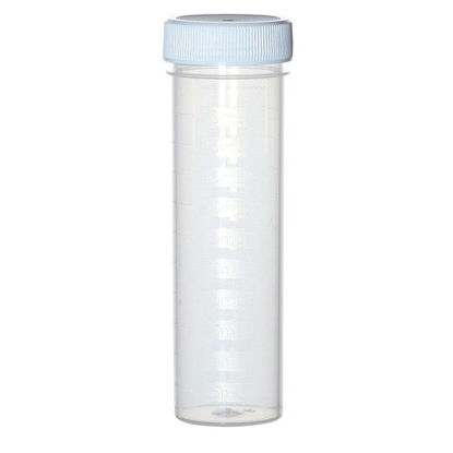 UC475-WH Ultimate Cup, Digestion Cups with White Caps, 50 mL; 500/Pk