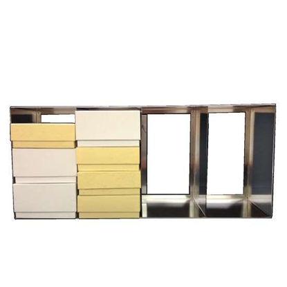 "Argos Technologies PolarSafe® RF412LA Upright Freezer Rack for Standard 2"", 3"" or 3.75"" Boxes, 4 columns; 12 3/8""H"