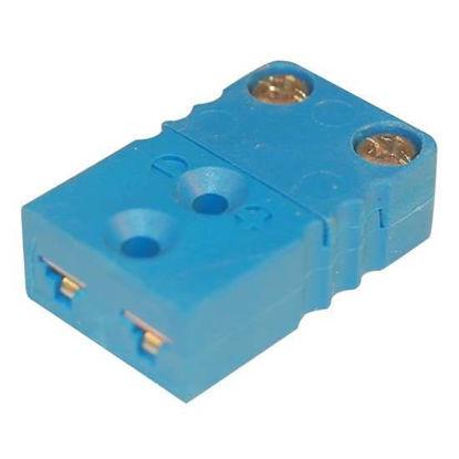 Digi-Sense Miniature Type-T Thermocouple Female Connector, 2 Pin