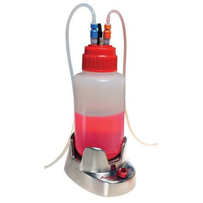 Argos Technologies E-Vac Aspirating System with Quick-Release Couplings Cap, 4 L