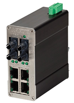 Red Lion N-TRON N-Tron Unmanaged Industrial Ethernet Switch, 6 Port; ST