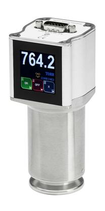 "974B Cold Cathode Transducer, CF 2 3/4"" RS232, Standard MKS, 15pinHD / 3x Relays, Standard / Viton / Display"
