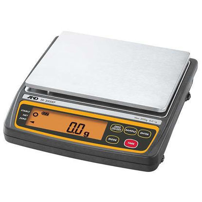 A&D Weighing EK-EP Instrinsically Safe Portable Balance, 3000 g x 0.1 g