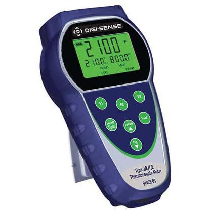 Digi-Sense Temp-100 Dual-Input Thermocouple Thermometer