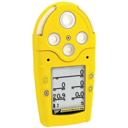BW Technologies GasAlertMicro 5 Multigas Detector: O2, NH3, Cl2, Combustibles; with data logger