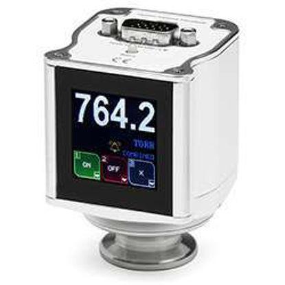 925 MicroPirani, KF16, RS232 / Analog, Standard MKS,SUBD 9 pin male / 1 relay Standard / Viton Sealing / Display