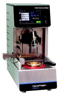 OptiFlash COC Flash Point, Gas Igniter, Fire Extinguisher, 230V/115V, 50/60Hz