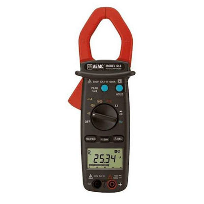 AEMC 514 Clamp-On Meter, 0.05 to 1000 A(rms)
