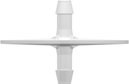 "Dip Tube (Opposable Barbs) with two 600 Series Barbs 3/16""; (4.8 mm) Tubing ID Value Pharmaâ""¢ USP Class VI Animal-free Polyethylene Granuflex"