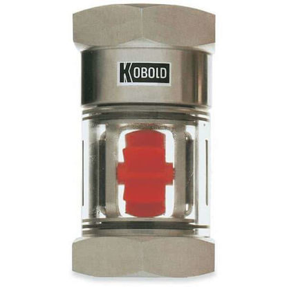 Kobold DAA5110 Flow Indicator, Brass, 3.17 GPM Max