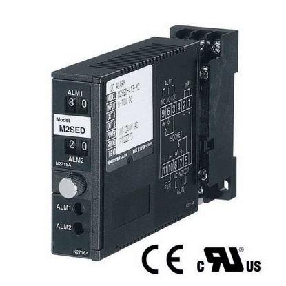 M-System M2SED-A13-R/UL Dc Input Limit Alarm Thin Profile 4-20 Ma Dual Spdt