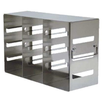 "Argos Technologies PolarSafe® RFE342A Upright Freezer Eco-Rack for Standard 2"" Boxes, 3 x 4 Array"