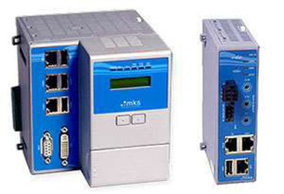 PAC 100. MKS Communications Module for remote I/O via Modbus TCP/IP or manual control via Controls Workbench