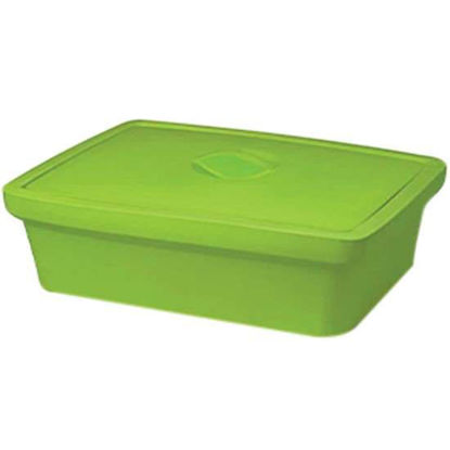 """Corning EVA-Foam Ice Pan with Lid, Green with Lid, 9 L; 1/Each"""""""