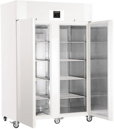 LKPv 1420 MediLine Laboratory Refrigerator with Profi Controller, Volume 1427 L, Dynamic Cooling, Dimension 1430 x 830 x 2150 mm, White Steel Cabinet Finish