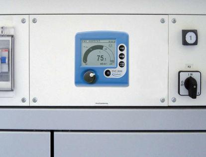 VACUU·LAN® Vacuum controller CVC 3000 E, For work stations, with solenoid operated isolation valve VV-B 6C, certification (NRTL): C/US 100-230 V/50-60 Hz, plug CEE/CH/UK/US/AUS