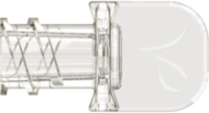 Neuraxial Female Cap fits Neuraxial Male, White ABS, MOQ 25000