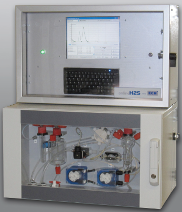 H2S-on-line for water/waste water, (1 Channel) H2S