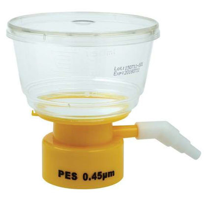 CELLTREAT Scientific Products 229711 Bottletop Filter, 150 mL, .45 μm; 24/cs
