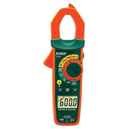 Extech EX650 True RMS 600A Clamp Meter with NCV; AC
