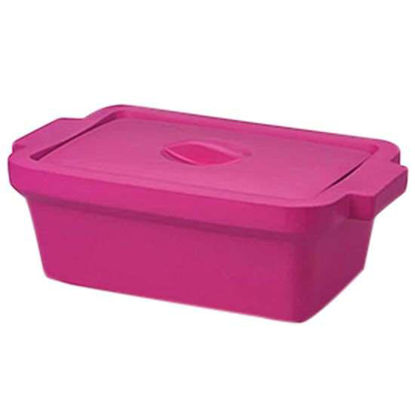 """Corning EVA-Foam Ice Pan with Lid, Pink with Lid, 4 L; 1/Each"""""""